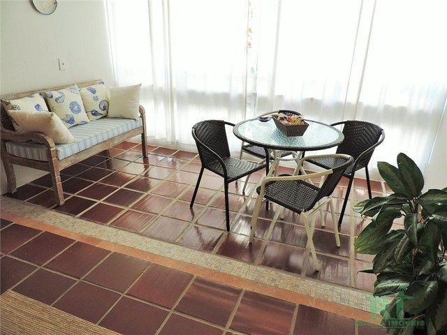 Apartamento na praia, Vista mar, 3 dormitórios, Lazer, 1 vaga, Astúrias, Guarujá. - Foto 7