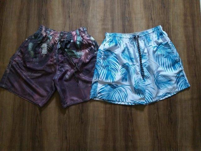 Shorts moda praia disponíveis - Foto 4