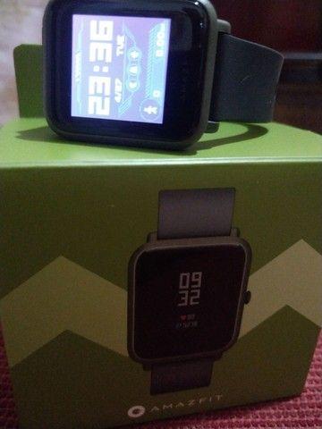 AMAZFIT BIP COM GPS Semi novo na caixa   - Foto 2