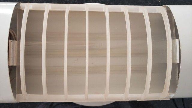 Luminária Led sobrepor 17W Branco Frio - Foto 2