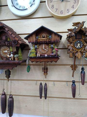 Relógios antigos, cucos, carrilhões - Foto 2
