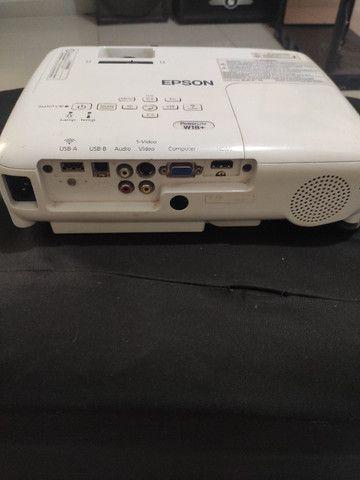 Projetor Epson Powerlite w18+ - Foto 2