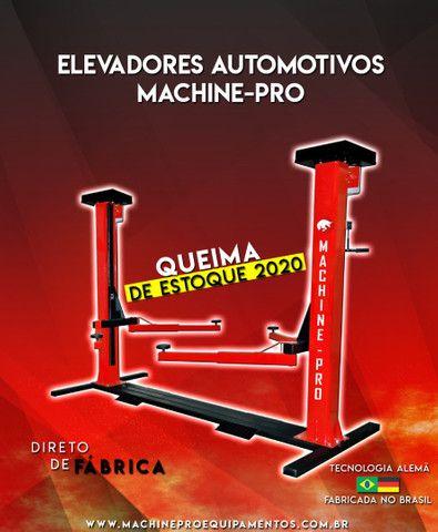 Elevador Automotivo Machine-Pro 4000 kg   Equipamento Novo   Trifásico - Foto 2