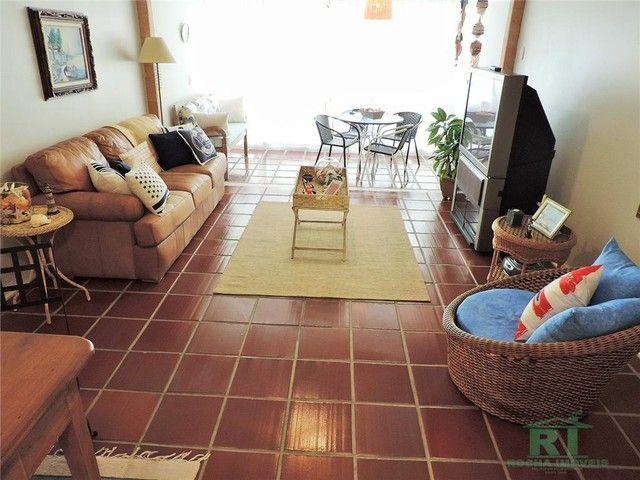 Apartamento na praia, Vista mar, 3 dormitórios, Lazer, 1 vaga, Astúrias, Guarujá. - Foto 9