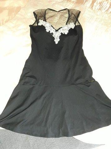 vestido com bojo e tule com bordado tamanho p/m...zap *  - Foto 2