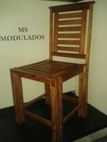 Vendo Mesa com 4 Cadeiras - Frete Grátis  - Foto 5
