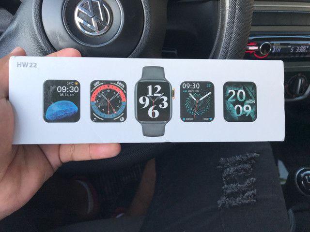 Relógio Smartwatch hw22 o melhor do mercado  - Foto 4