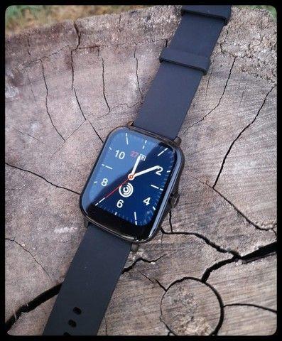 Relógio Smartwatch P8 Plus 2021 Notificações/Esportes/Saúde