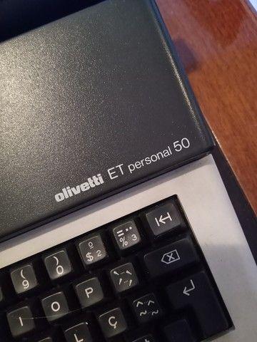 Máquina Elétrica De Escrever Olivetti Et Personal 50 - Foto 2
