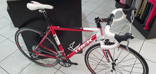 Bicicleta Trek road 1.2 alumínio 18 velocidades.