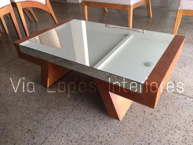 Mesa de 2.10 com oito cadeiras aqui na Via Lopes wpp 62 9  * - Foto 6