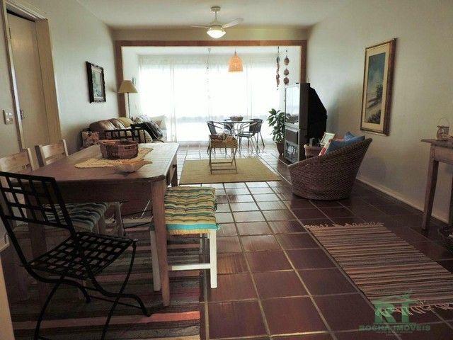 Apartamento na praia, Vista mar, 3 dormitórios, Lazer, 1 vaga, Astúrias, Guarujá. - Foto 5