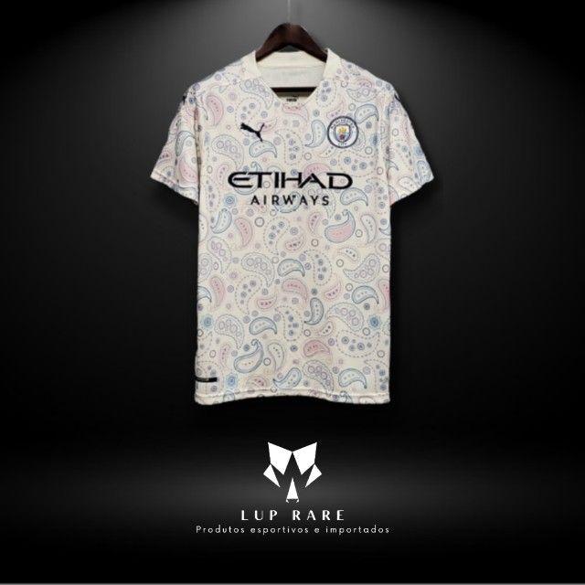 Camisa De Futebol Manchester City III 2020 / 2021