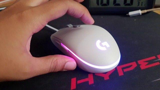 Teclado Mecanico Redragon E Mouse Gamer - Foto 2