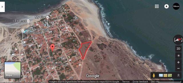 Vende-se o maior terreno disponível em Jericoacoara