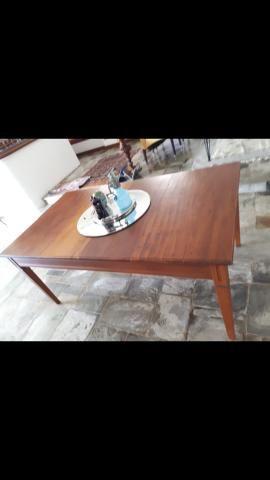 Mesa peroba mica conservada - Foto 2