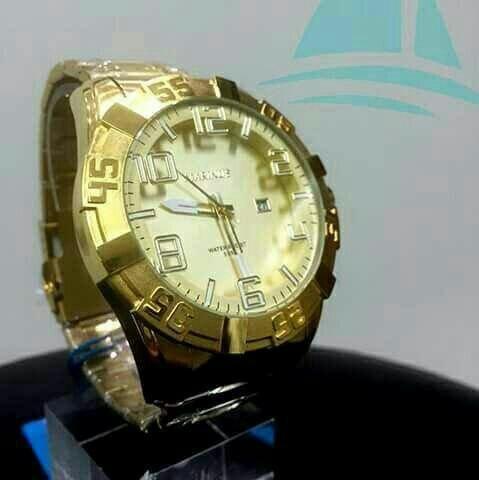 Relógio original aprova d'água Marinos