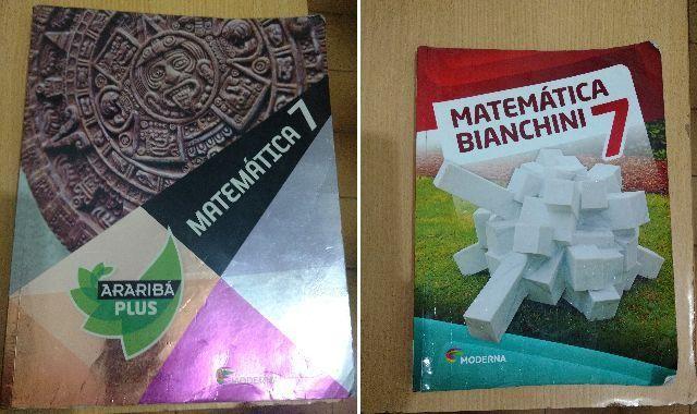 Livros paradidáticos do 7º ano, 60 reais cada