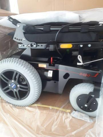 Cadeira de rodas motorizada lacrado nunca usada urgente