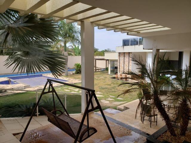 Samuel Pereira oferece: Mansão Moderna Vicente Pires 3 Piscinas 5 Suites Churrasqueira - Foto 17