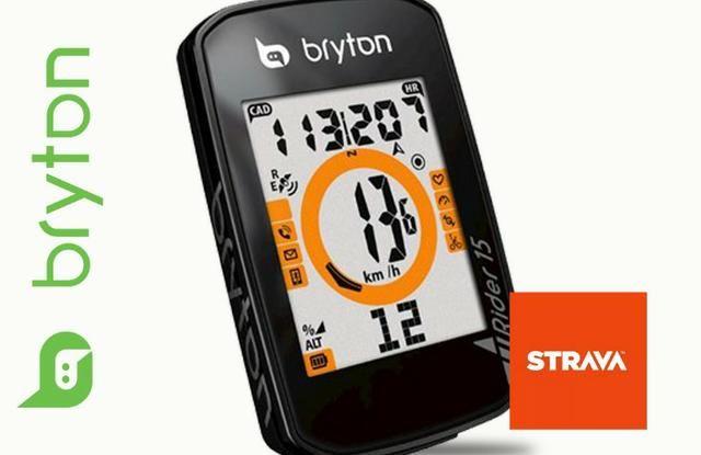 Ciclo Computador Gps Bryton Rider 15e NOVO