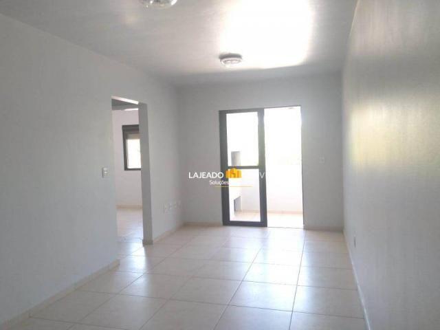 Apartamento com 2 dormitórios para alugar, 64 m² por r$ 590/mês - montanha - lajeado/rs - Foto 2