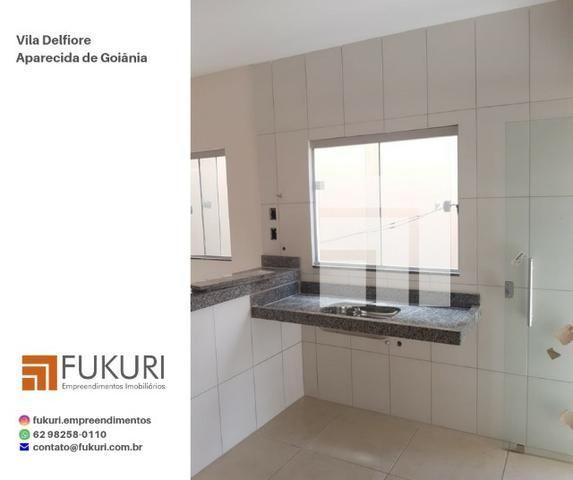 Casa Vila Delfiore 2Q c/ suíte - Aparecida de Goiânia - Foto 4