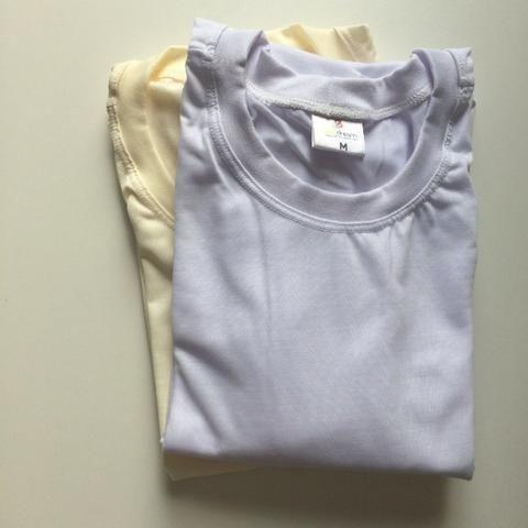06b56b4da4 Camisetas Básicas para Sublimação Brancas e Bege - Adulto e Infantil ...
