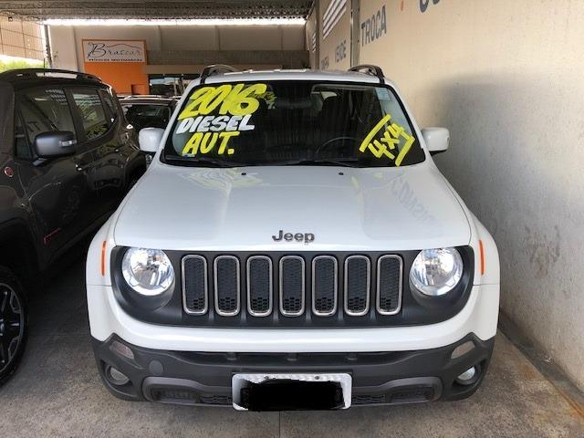 Jeep Renegade Lngtd 2.0 At 2015/2016 Diesel Branco