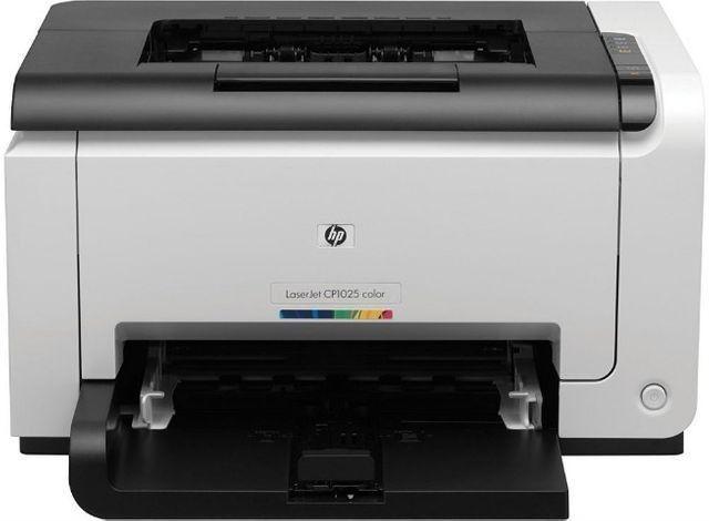 Impressora laser colorida hp pro cp1025