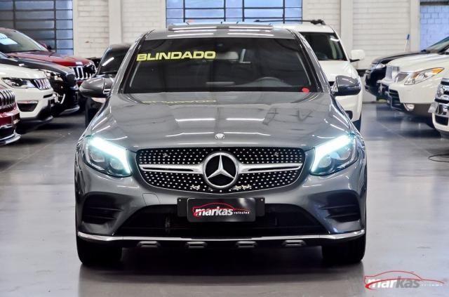 Mercedes GLC 250 2.0 4MATIC 211HP TETO 4X4 NIVEL 3 NA LAF BLINDADOS GARANTIA ATE 2022 4P - Foto 2