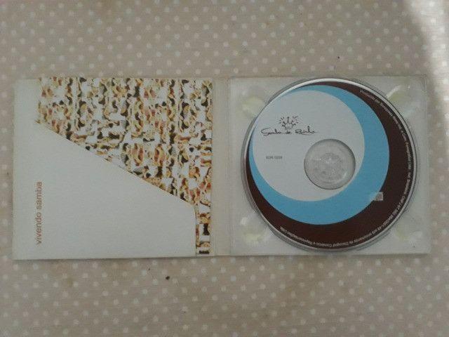 CD Samba de Rainha - Vivendo Samba - autografado - Foto 3