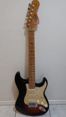 Guitarra Tagima 735 com captação fender - Foto 3