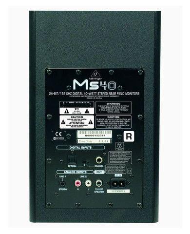 Monitor Behringer Ms40 -  Homestudio - Foto 4
