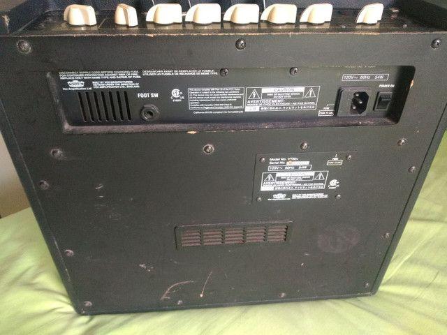 Baixei pra vender amplificador guitarra Vox vt80+ 120w de potência - Foto 3