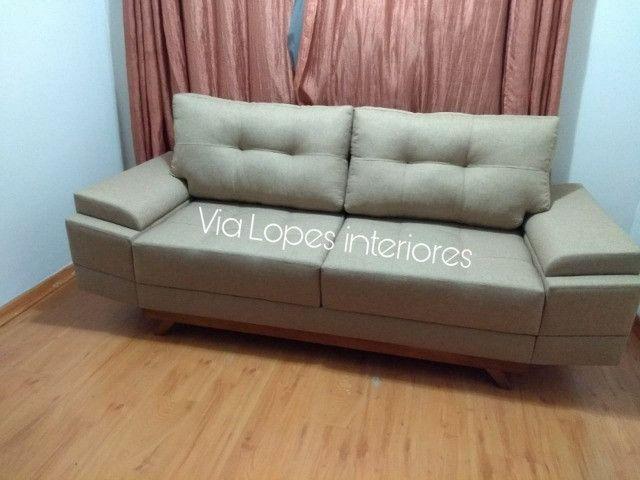 Mesa de 2.10 com oito cadeiras aqui na Via Lopes wpp 62 9  * - Foto 3
