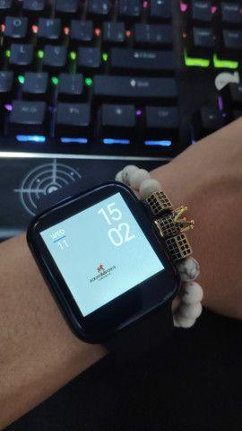 Baixou Preço! Smartwatch Iwo Max! Faça e receba chamadas pelo smartwatch! - Foto 2
