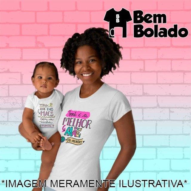 Conjunto Primeiro Dia das Mães body + camiseta - Foto 6