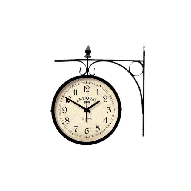 Relógio de estação dupla face - Foto 6