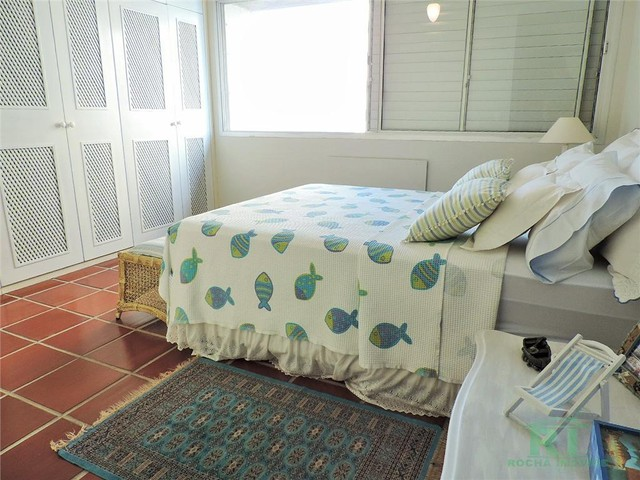 Apartamento na praia, Vista mar, 3 dormitórios, Lazer, 1 vaga, Astúrias, Guarujá. - Foto 11