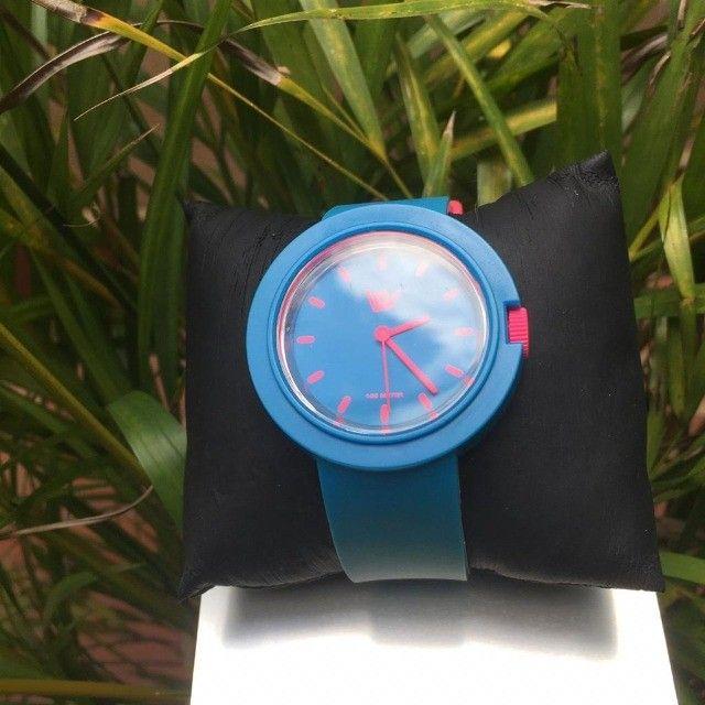 Relógio Feminino Hang Loose - Baby Doll Blue - Foto 4