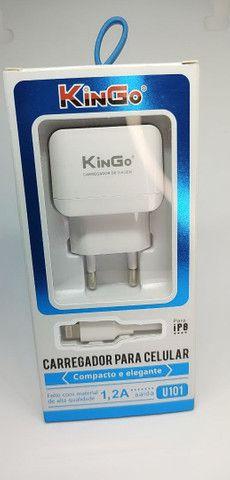 CARREGADOR KINGO ip8 - Foto 2