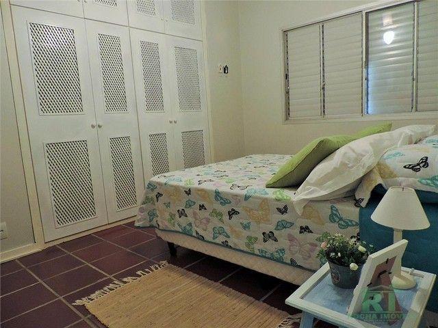 Apartamento na praia, Vista mar, 3 dormitórios, Lazer, 1 vaga, Astúrias, Guarujá. - Foto 15