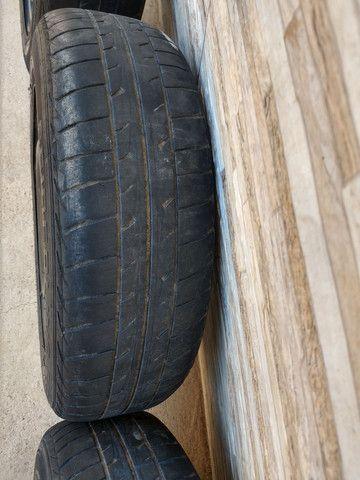 Jogo de rodas 14 de ferro semi novas originais do fiat pálio - Foto 10