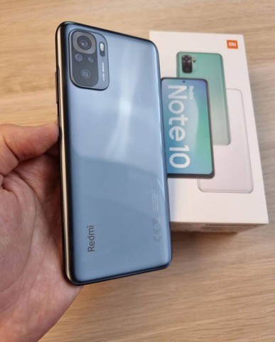 Redmi Note 10 64GB/4GB Ram Cinza/Verde  - Foto 2