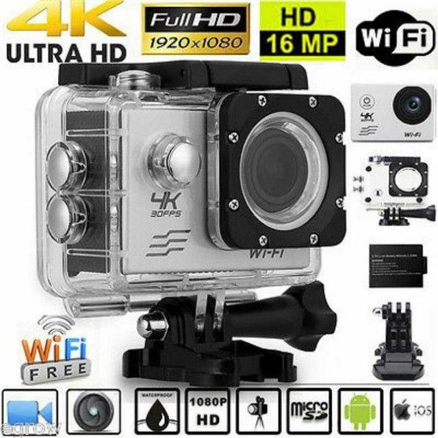 Câmera Sports Cam 4k Full Hd 1080 Wifi - Foto 2
