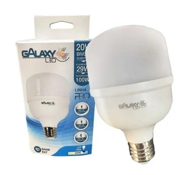 Lâmpada Led Bulbo 40w E27 Bivolt  Galaxy Led - Foto 2