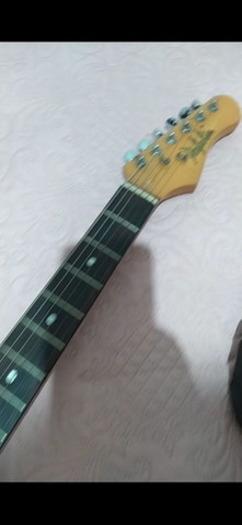 Guitarra Dolphin vendo ou troco - Foto 5