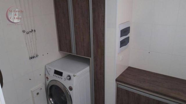 Oportunidade apartamento mobiliado de 122 m² e 4 dormitórios no splendor garden jardim das - Foto 13