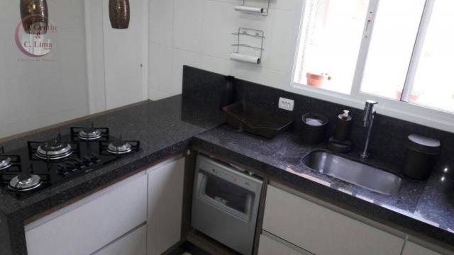 Oportunidade apartamento mobiliado de 122 m² e 4 dormitórios no splendor garden jardim das - Foto 5